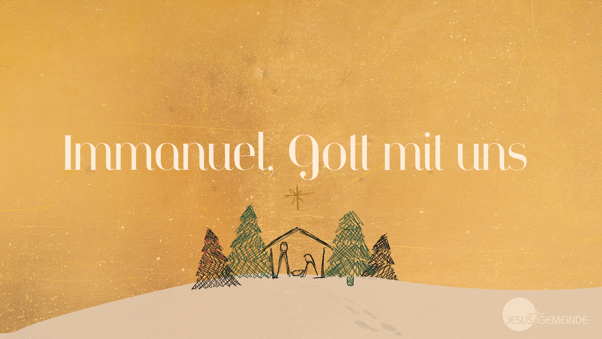 Immanuel, Gott mit uns [video]