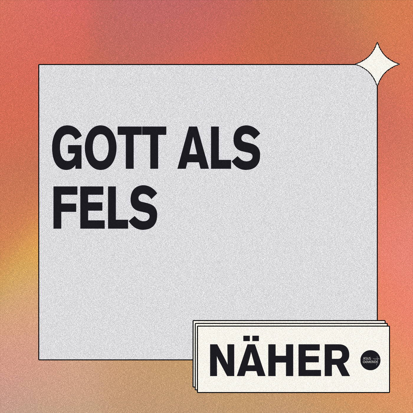 Näher - Gott als Fels [video]